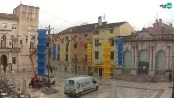 Zadar - Narodni trg, Gradska loža