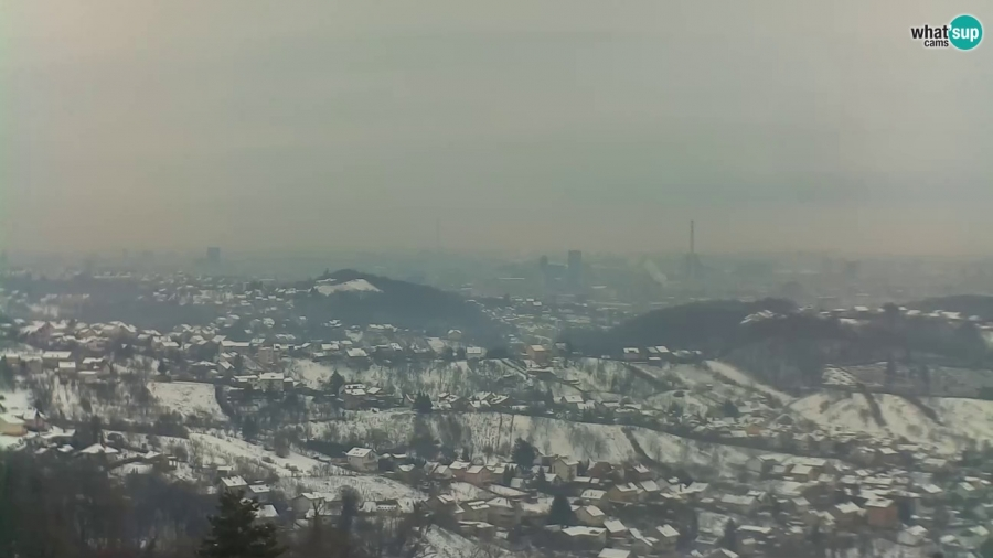 Zagreb - Panoramski pogled, Vrapče