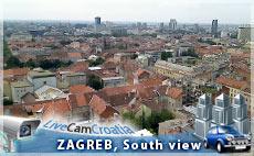 Zagreb - Pogled na jug