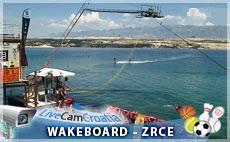 Zrće, Ski - lift, Wakeboard