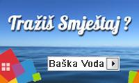 Apartmani i privatni smještaj u Baškoj Vodi