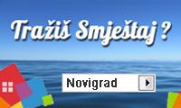 Apartmani i privatni smještaj u Novigradu