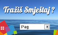 Apartmani i privatni smještaj na otoku Pagu
