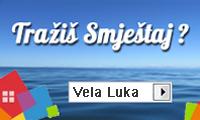 Apartmani i privatni smještaj u Vela Luci