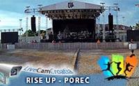Rise Up Poreč - pozornica